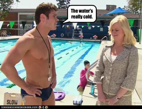 Amy Poehler,lolz,NBC,parks and recreation,peen,sitcoms,Speedos,TV