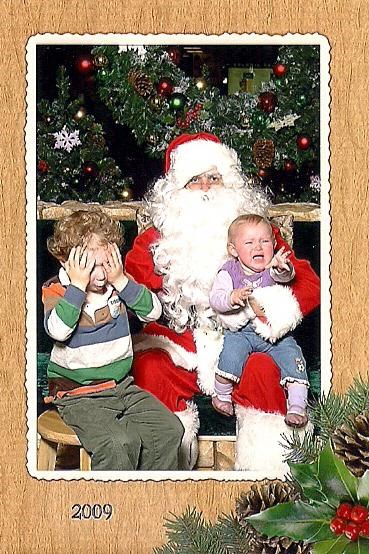 boy,girl,serious santa,whats going on