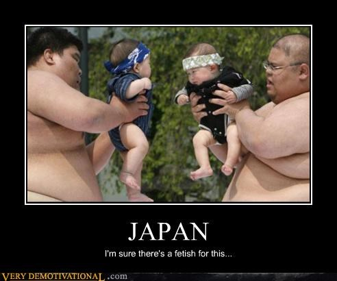 Babies Fetish Japan sumo training wtf