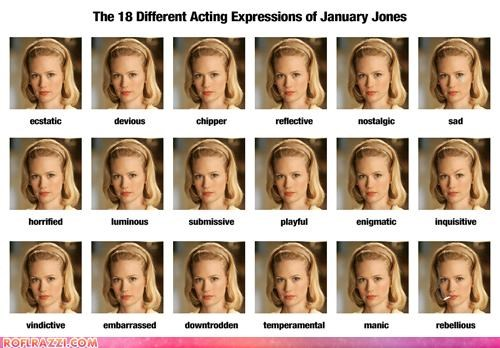 actress bad actress betty draper Extras January Jones mad men TV - 4102748416