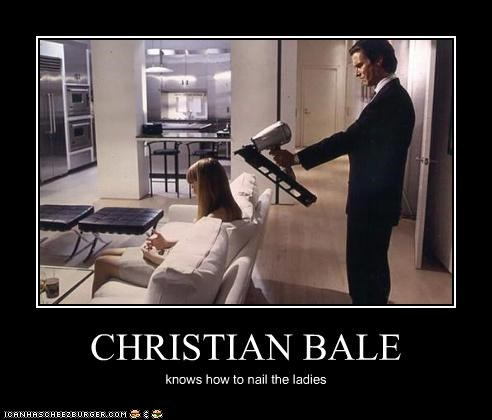 actor celeb christian bale demotivational funny lolz - 4103103232