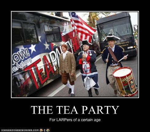 demotivational funny lolz rally tea party - 4103742720