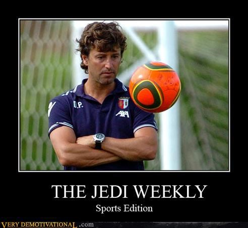 impossible jedi powers soccer sports star wars the force