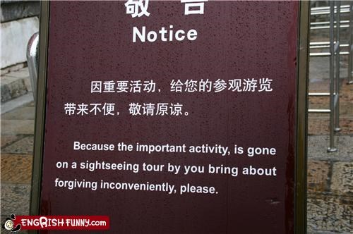 engrish,notice,sign,WoW