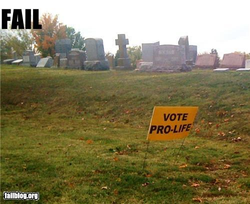 cemetery,failboat,irony,placement,political,sign