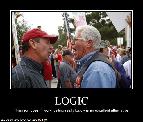 demotivational funny logic lolz Protest - 4105584128