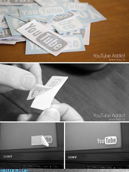 sticker TV youtube - 4105640960
