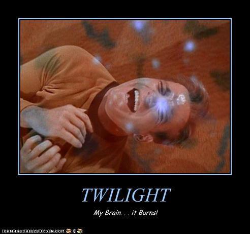 celeb demotivational funny lolz sci fi Shatnerday Star Trek twilight William Shatner - 4106508288