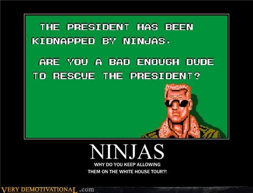 bad dudes best game ever kidnapping lol ninjas Videogames - 4106673408