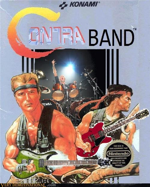 band combination contra contraband contraction Music neologism - 4106706432