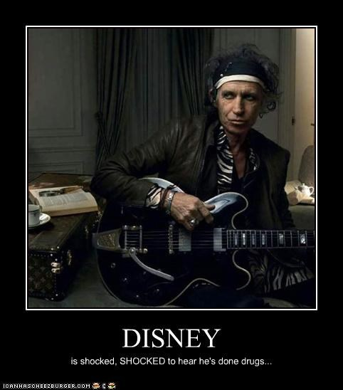 demotivational,drugs,Keith Richards,news,Pirates of the Caribbean,rolling stones,wtf