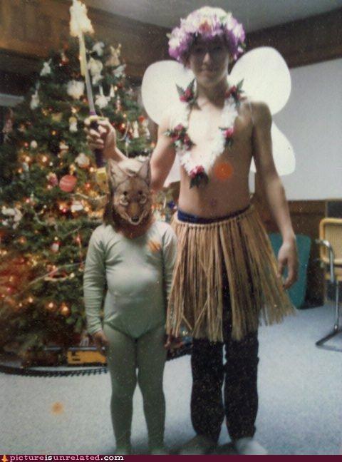 christmas tree costume festivus holidays seinfeld wtf - 4107973888