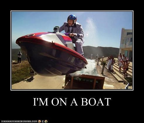 boat jackass jet ski johnny knoxville lolz Lonely Island movies song