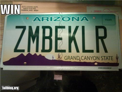 always double tap cars failboat g rated killers license plates win zombie - 4108196864