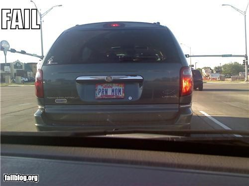 cars,failboat,innuendo,license plate,moms