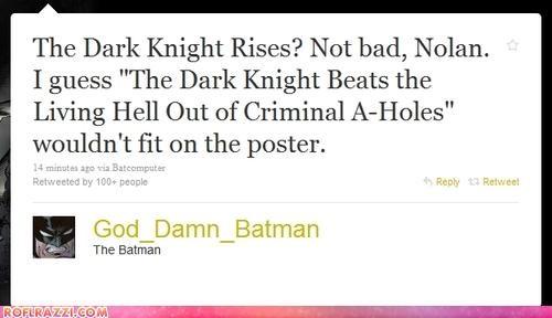 batman Celeb Tweets christopher nolan Extras movies ROFlash the dark knight rises - 4108387584