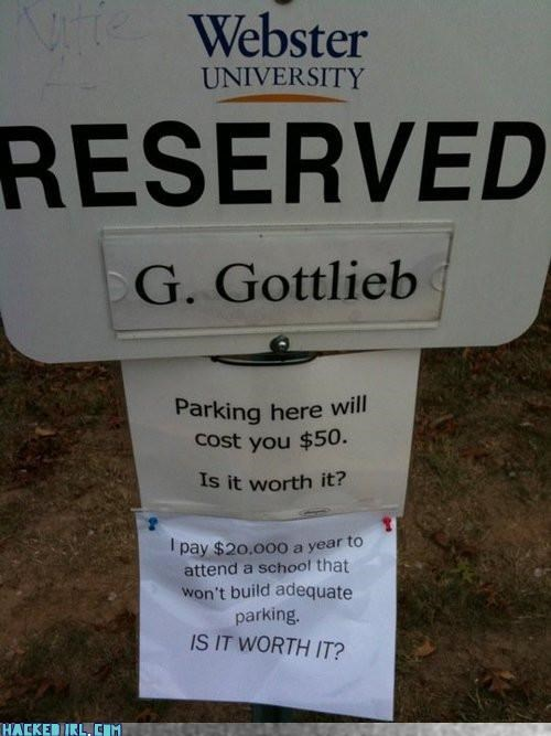 parking school sign - 4108831488