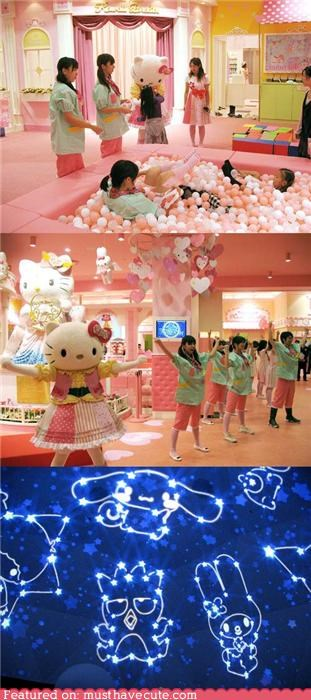 amusement park,hello kitty,hello kitty paradise,theme park