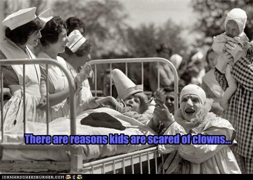 clown creepy funny nightmare fodder Photo photograph wtf - 4109425408