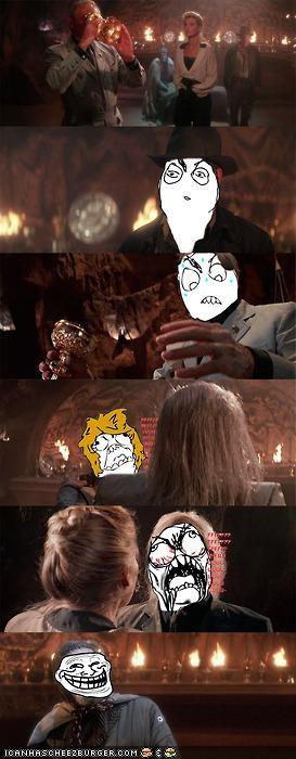 comic funny Indiana Jones meme - 4111145728