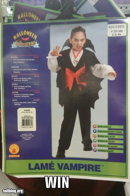 ads costume failboat g rated halloween labels lame vampires win - 4112058880
