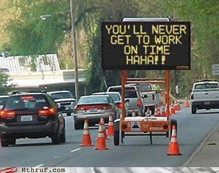 commute driving road signs troll - 4112417280