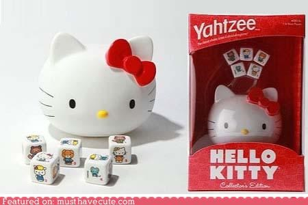 games,hello kitty,toys,yahtzee