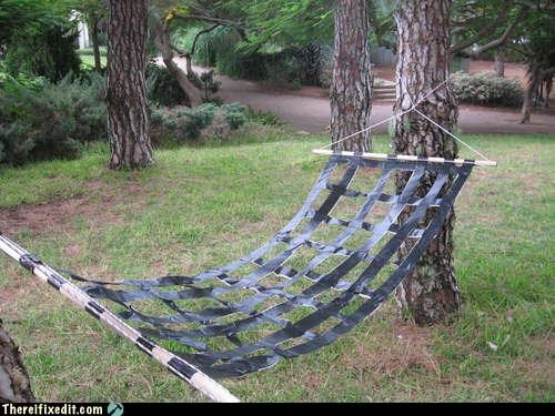art,camping,duct tape,hammock