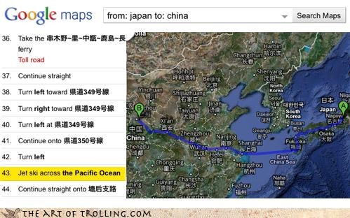 China google Japan jetski Maps oh this is real all right - 4114966528