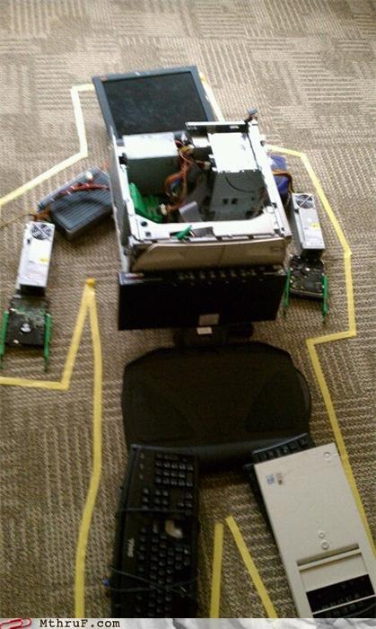 computer dead office prank trojan viruse - 4115159296