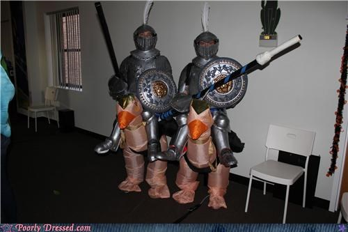 costume joust knights ostrich - 4115318016