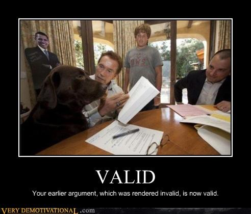 Arnold Scwharzenegger dogs invalid Pure Awesome valid wtf - 4115402752