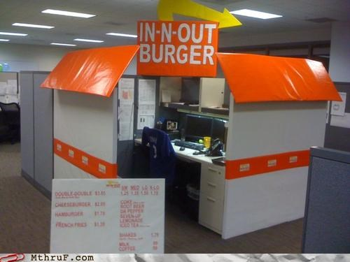 burgers cubicle fast food in-n-out
