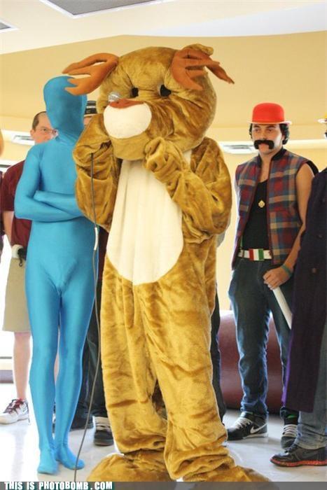 awesome boners costume lol photobomb spandex - 4116255744