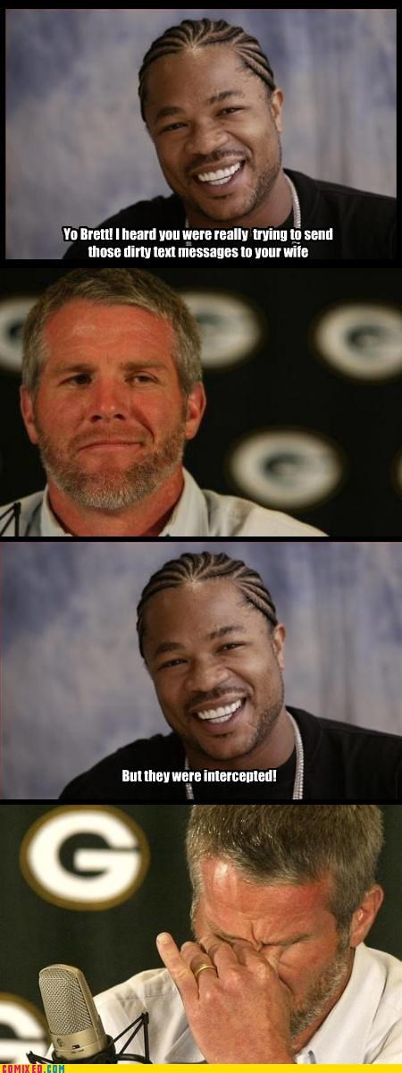 brett favre,celebutard,nfl,peen pics,puns interceptions,sports
