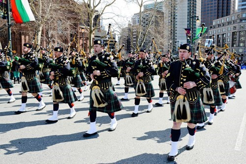 seattle St Patrick's Day celebration parade Party chicago boston - 411909