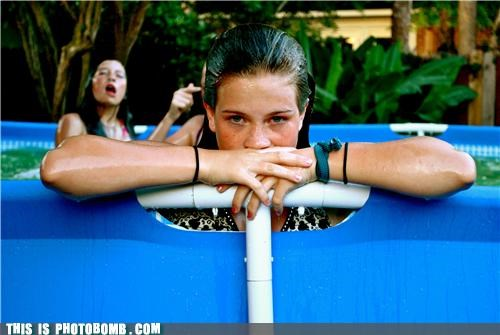 Good Times great photobomb pools water - 4119609856