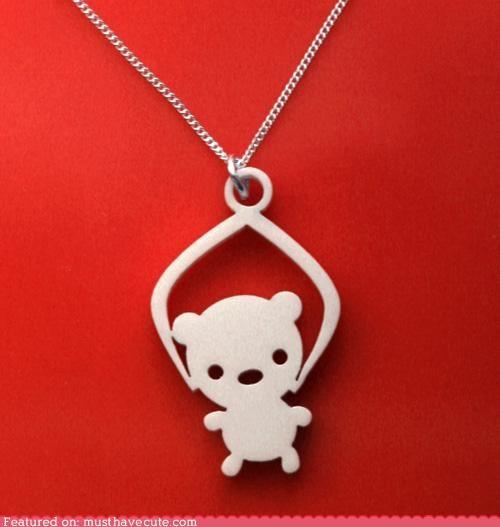 accessory acrilyc claw crane machine grabber Jewelry necklace toy - 4120244992