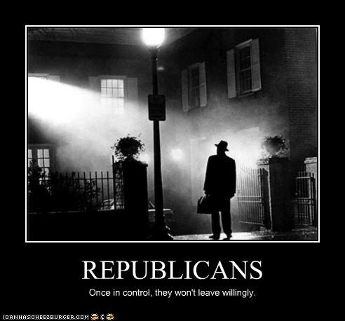 horror,lolz,max von sydow,politics,Republicans,the exorcist