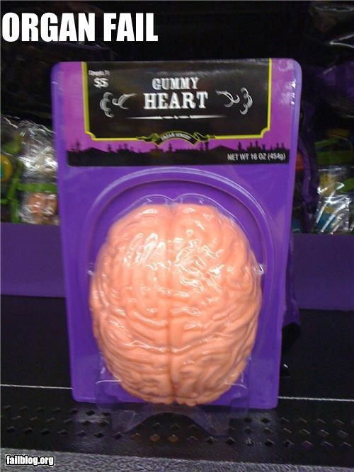 brains,candy,failboat,g rated,hearts,label,organs,product