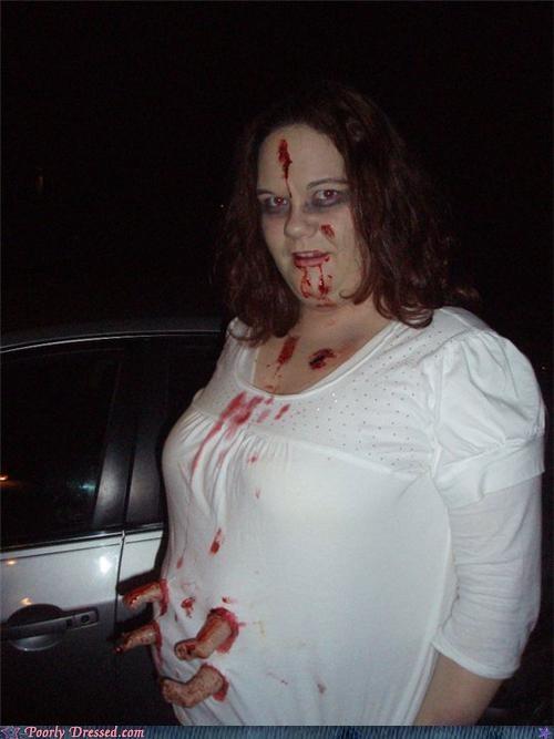 costume contest costume creepy halloween mom zombie - 4122574592