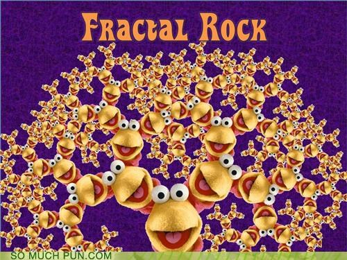 fractal,fractal geometry,fraggle rock,geometry,jim henson,lyrics,Mandelbrot,mathematicians,mathematics,muppets,parody,puppets,shapes,Theme Song,Weierstrass
