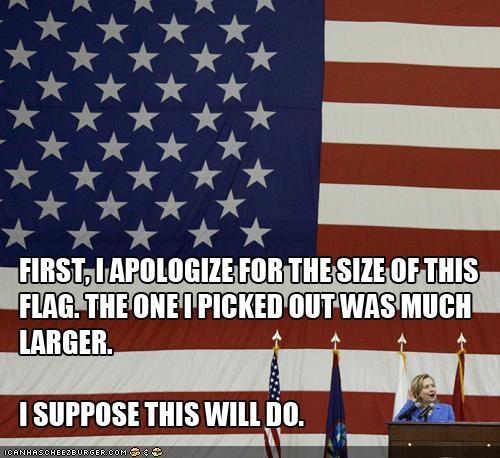 flag funny hillary clintong lolz - 4122951936