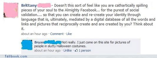 deep thoughts everyone is laughing facepalm halloween nice try status updates witty comebacks - 4123617792