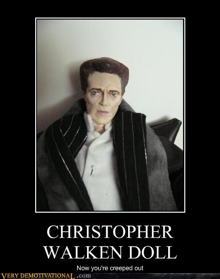 CHRISTOPHER WALKEN DOLL Now you're creeped out