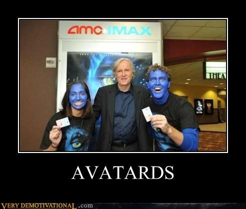 Avatar blue idiots james cameron movies