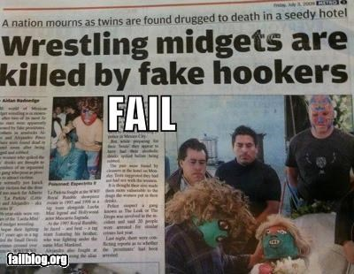 Probably Bad News: Headline FAIL