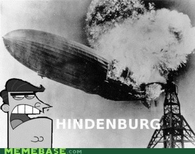 dinkleberg Fairly Oddparents Hindenberg Memes - 4124169984