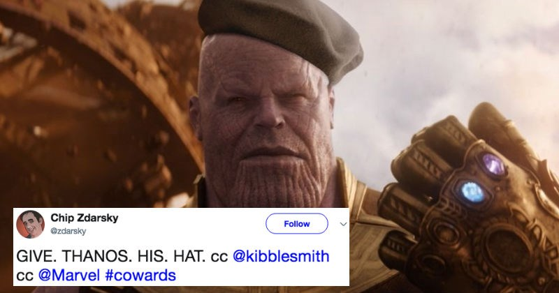 Thanos character from Marvel's Avengers: Infinity War is getting roasted on Twitter after the new trailer drops.