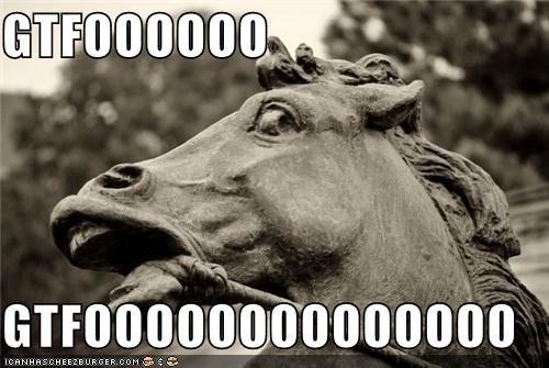 a g-g-ghost critters derp frozed gtfo horse OOOOOOOOOO statue - 4125841408